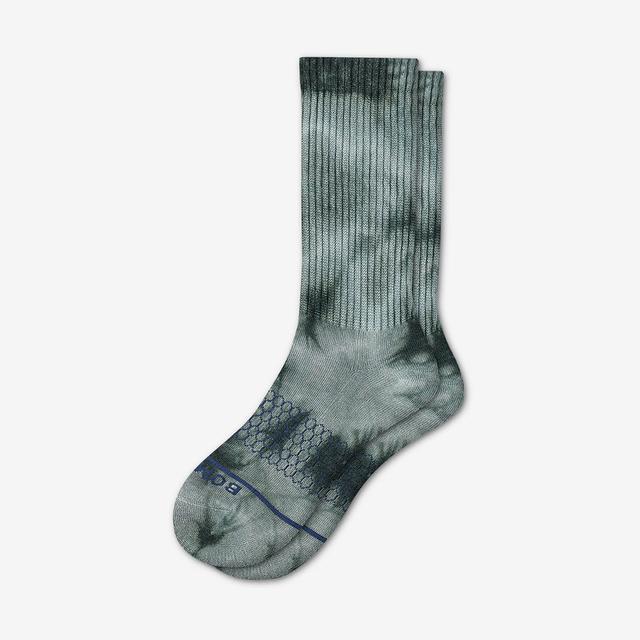 green Women's Merino Wool Calf Socks