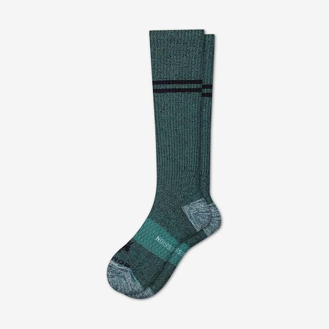 green Men's Compression Socks