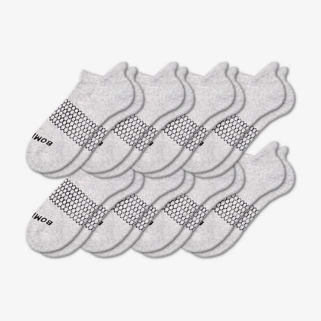 grey Men's Ankle Sock 8-Pack