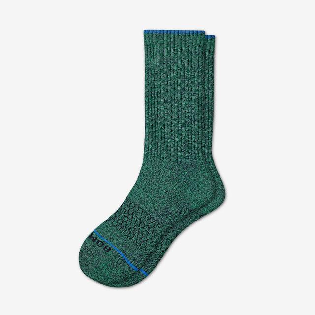 jade Men's Merino Wool Calf Socks