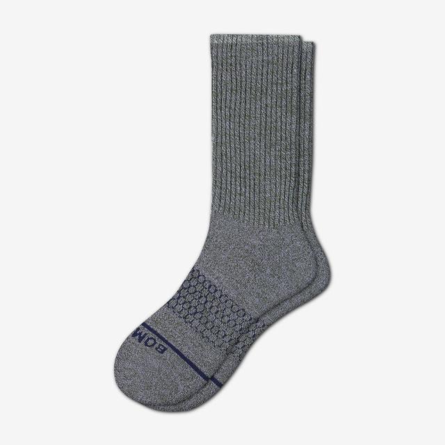 lavender-forest Women's Merino Wool Calf Socks