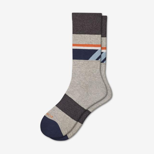 light-grey Men's Dress Calf Sock