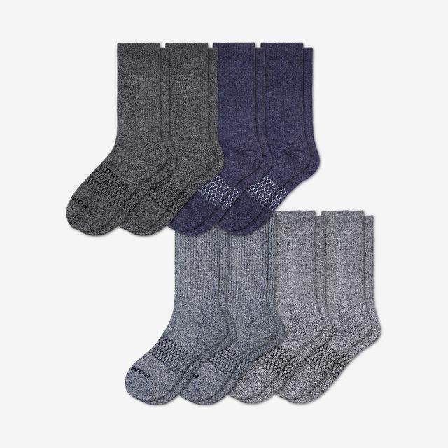 marls Men's Calf Sock 8-Pack