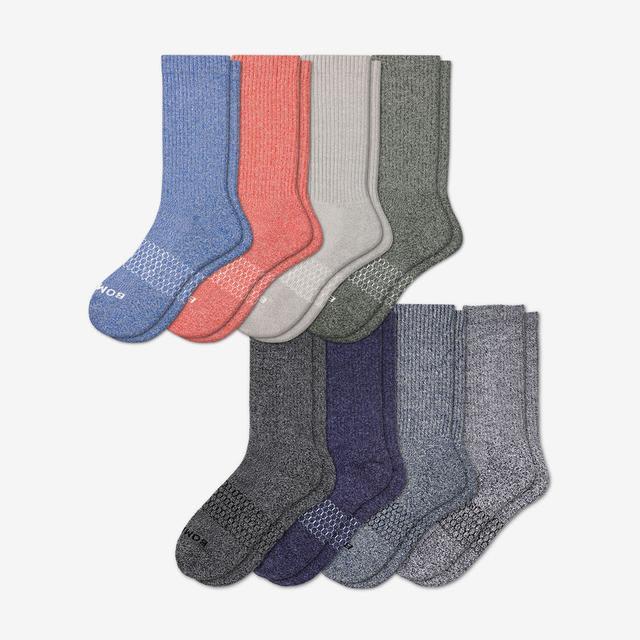marls-mix Men's Calf Sock 8-Pack
