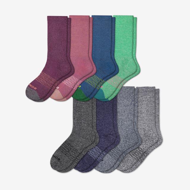 marls-mix Women's Calf Sock 8-Pack