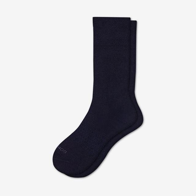 midnight-navy Men's Dress Calf Sock