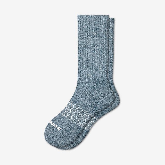 midnight-pine Men's Classic Marls Calf Sock