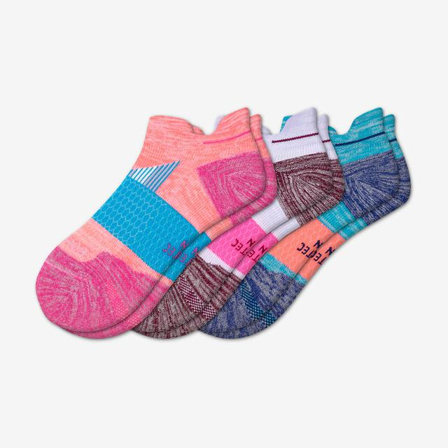 mix-3 Women's Performance Running Ankle Sock 3-Pack