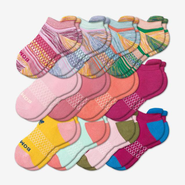 mixed-12 Youth Ankle 12-Pack