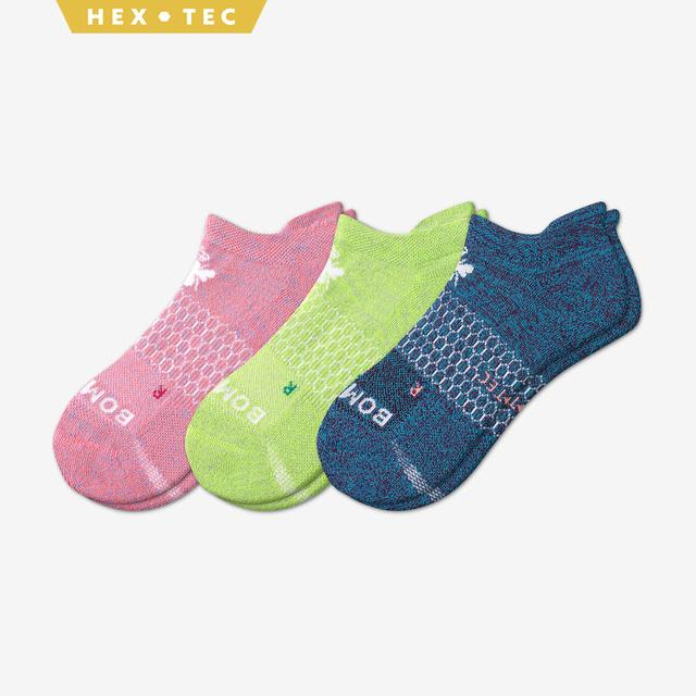 mixed-3 Women's All-Purpose Performance Ankle Sock 3-Pack
