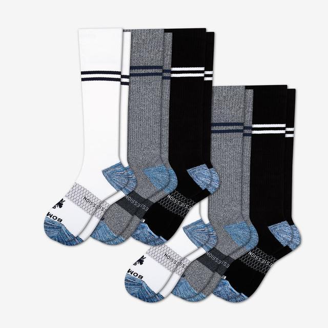 mixed-6 Men's Compression Sock 6-Pack