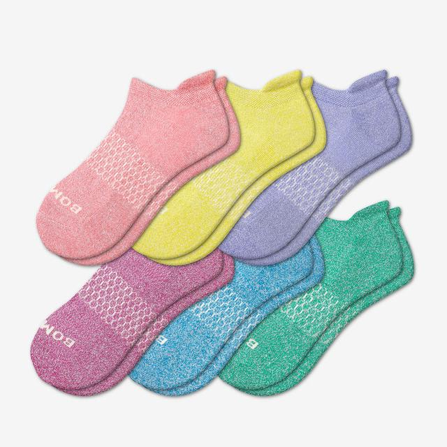 mixed-6 Women's Marls Ankle 6-Pack