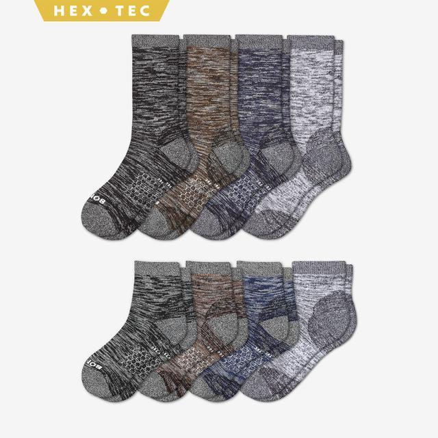 mixed-8 Women's Hiking Calf & Quarter Sock 8-Pack