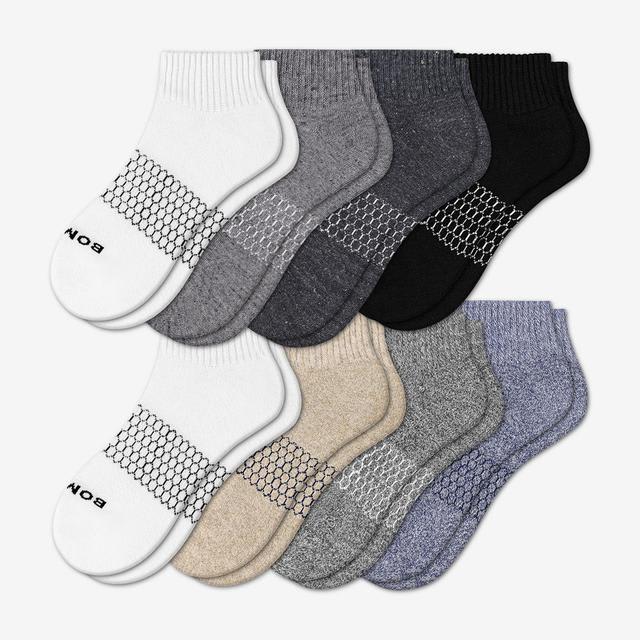 mixed-8 Women's Quarter Sock 8-Pack