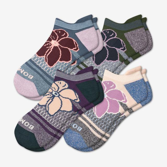 mixed-florals Women's Floral Ankle Sock 4-Pack