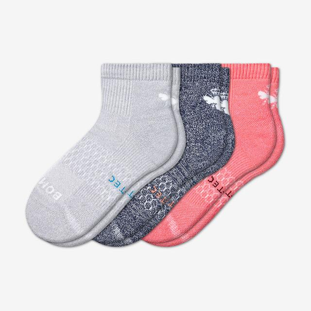mixed Women's All-Purpose Performance Quarter Sock 3-Pack