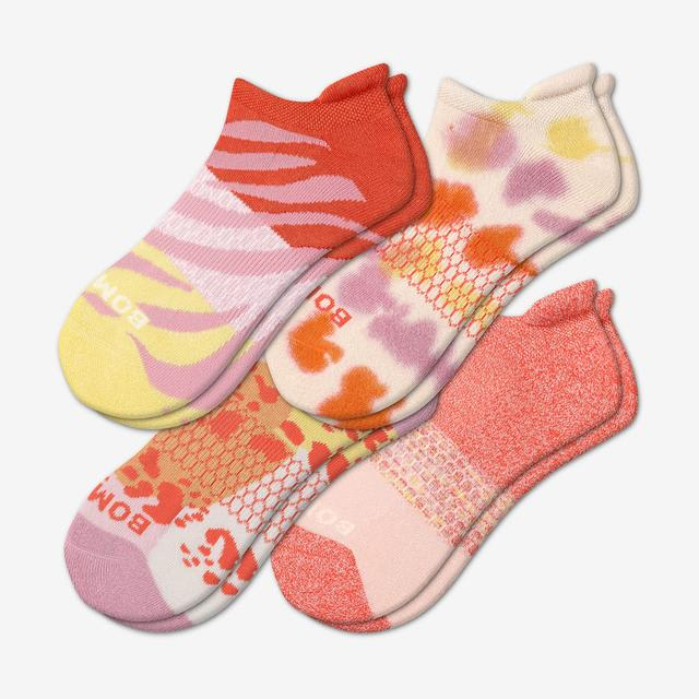 mixed Women's Wild Wear Ankle Sock 4-Pack