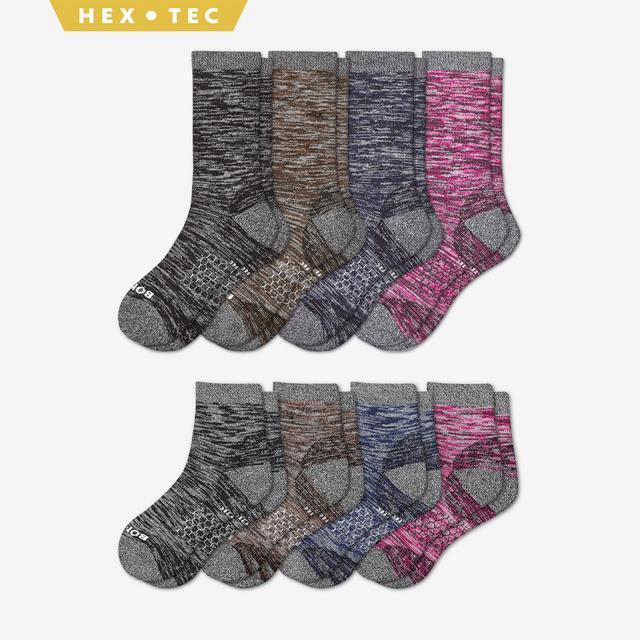 mixed Women's Hiking Calf & Quarter Sock 8-Pack