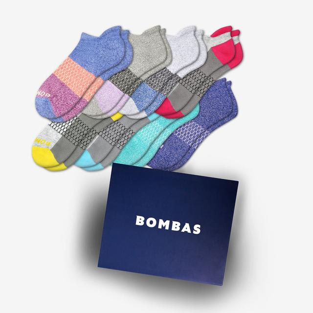 mixed Women's Ankle Sock 8-Pair Gift Box