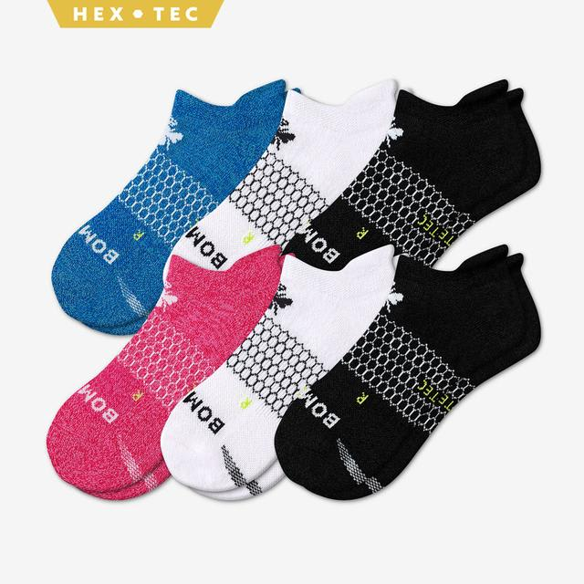 mixed Women's All-Purpose Performance Ankle Sock 6-Pack
