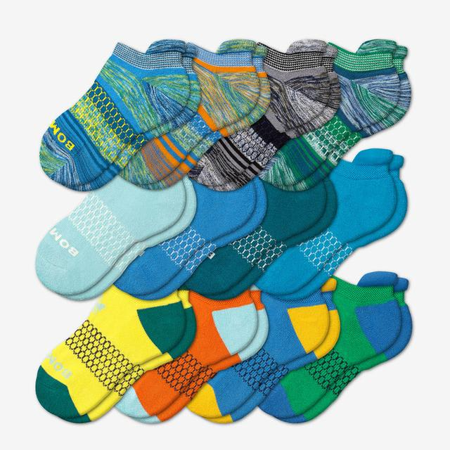 multi-12 Youth Ankle 12-Pack