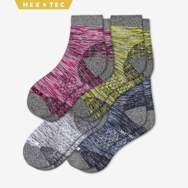 multi-4 Women's Hiking Quarter Sock 4-Pack