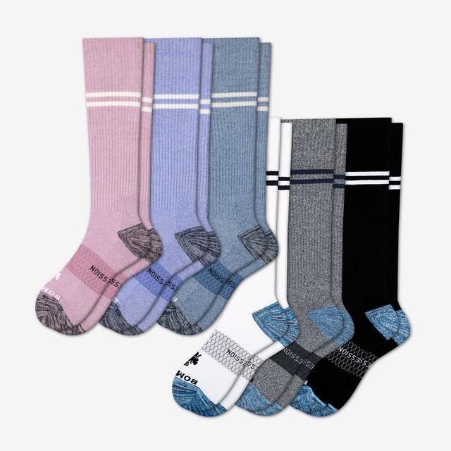 multi-6 Women's Compression Sock 6-Pack