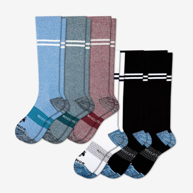 multi-6 Men's Compression Sock 6-Pack