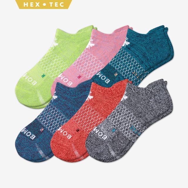 multi-6 Women's All-Purpose Performance Ankle Sock 6-Pack