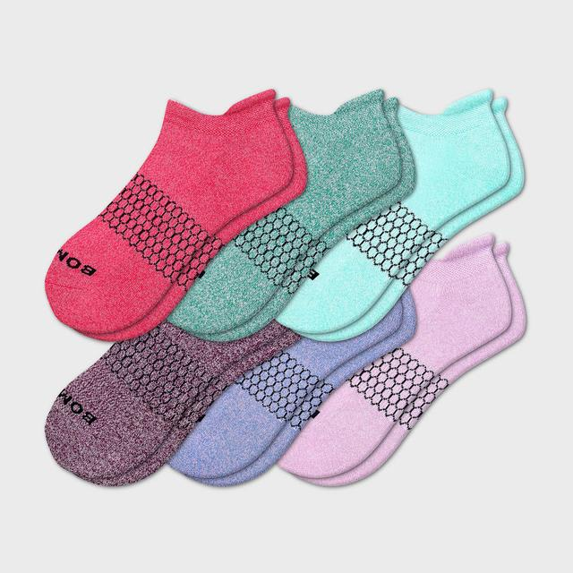 multi-6 Women's Marls Ankle 6-Pack