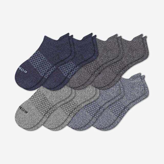 multi-8 Men's Ankle Sock 8-Pack