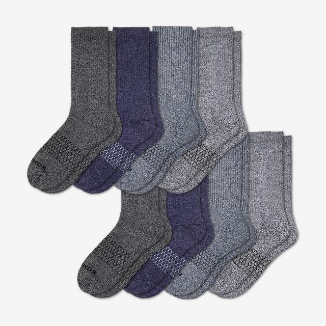 multi-8 Women's Calf Sock 8-Pack
