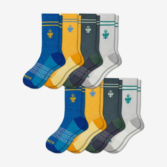 multi-8 Men's Calf Sock 8-Pack