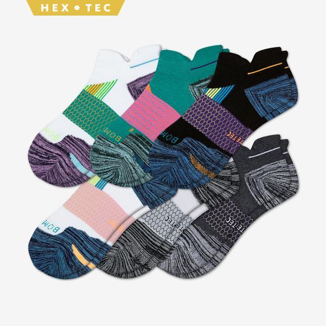 multi Women's Performance Running Ankle Sock 6-Pack