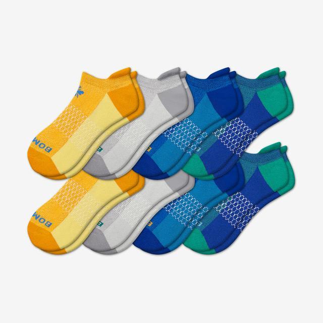 multi Men's Ankle Sock 8-Pack