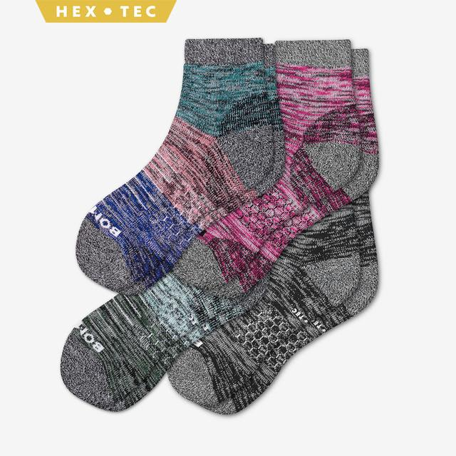multi Women's Hiking Quarter Sock 4-Pack