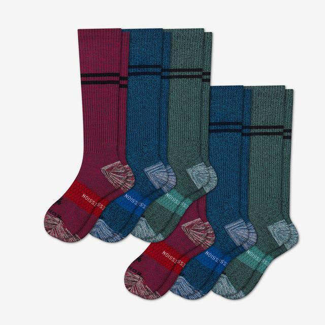 multi Men's Compression Sock 6-Pack