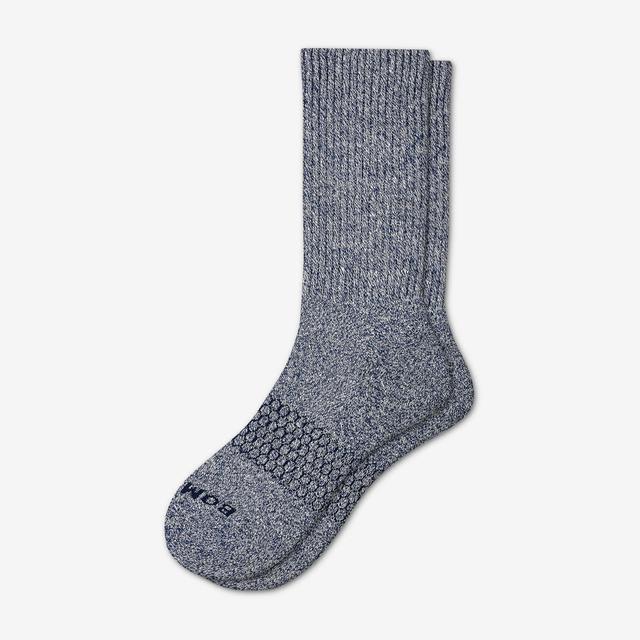 navy-cream Men's Classic Marls Calf Sock