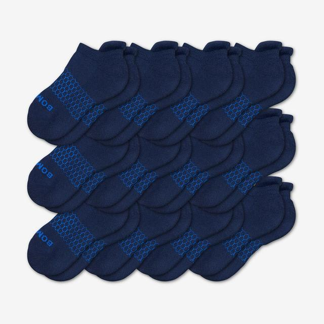 navy Youth Ankle 12-Pack