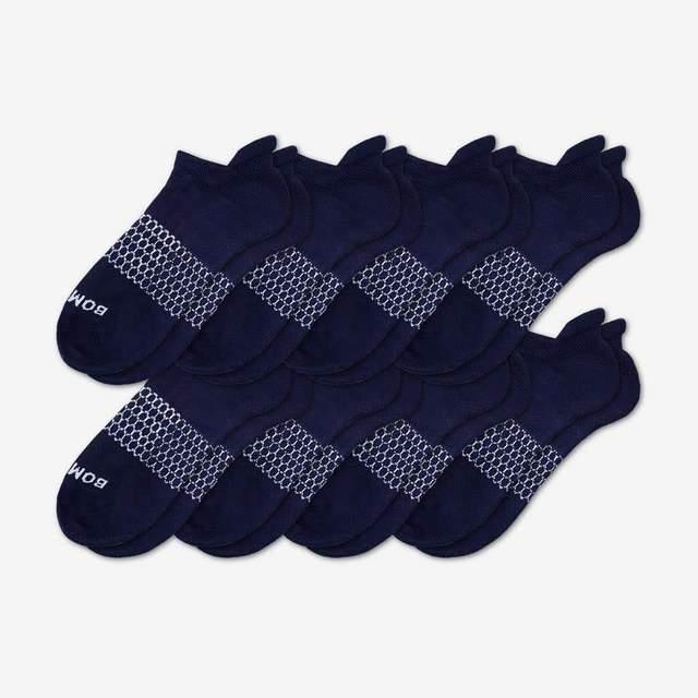 navy Women's Ankle Sock 8-Pack