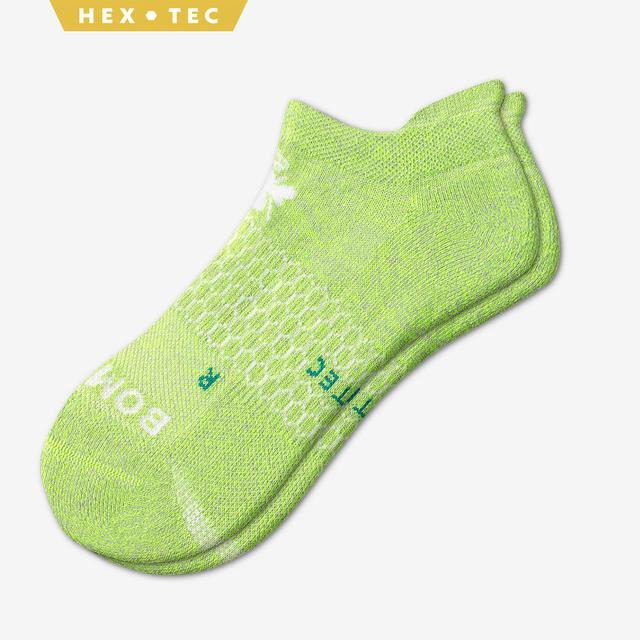 neon-green-marl Women's All-Purpose Performance Ankle Socks