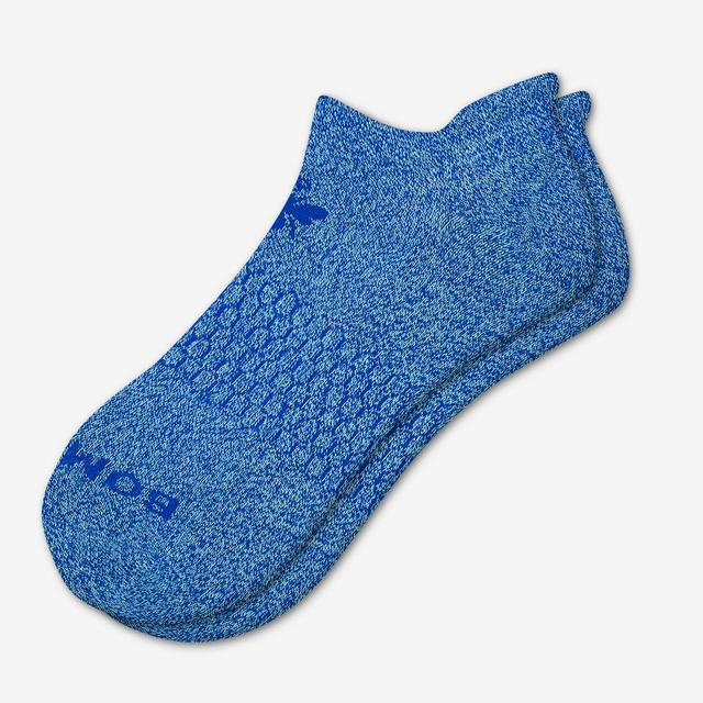 ocean-blue Bright Marls Ankle Sock