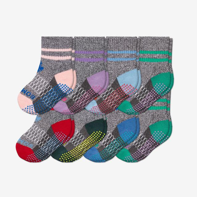 originals-mix Toddler Gripper Calf Sock 8-Pack
