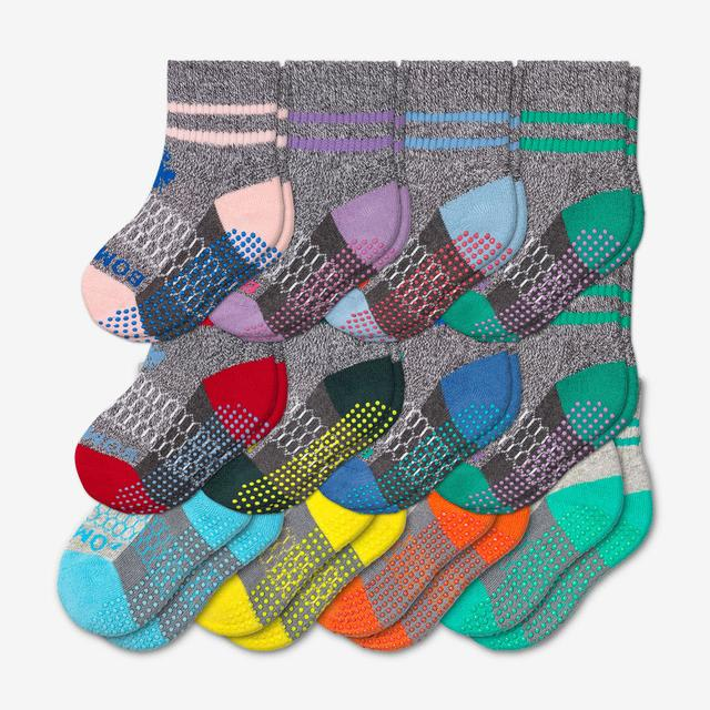 originals-multi Toddler Gripper Calf Sock 12-Pack