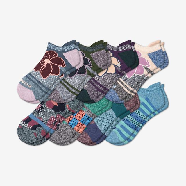 patchwork-floral-mix Women's Ankle Sock 8-Pack