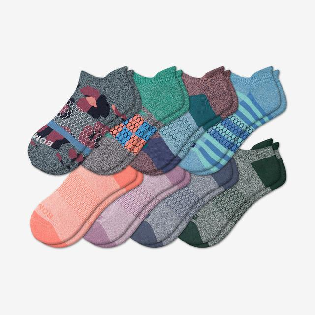 patchwork-mix Women's Ankle Sock 8-Pack