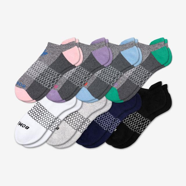 pink-blue-teal-purple-mix Women's Originals Ankle Sock 8-Pack