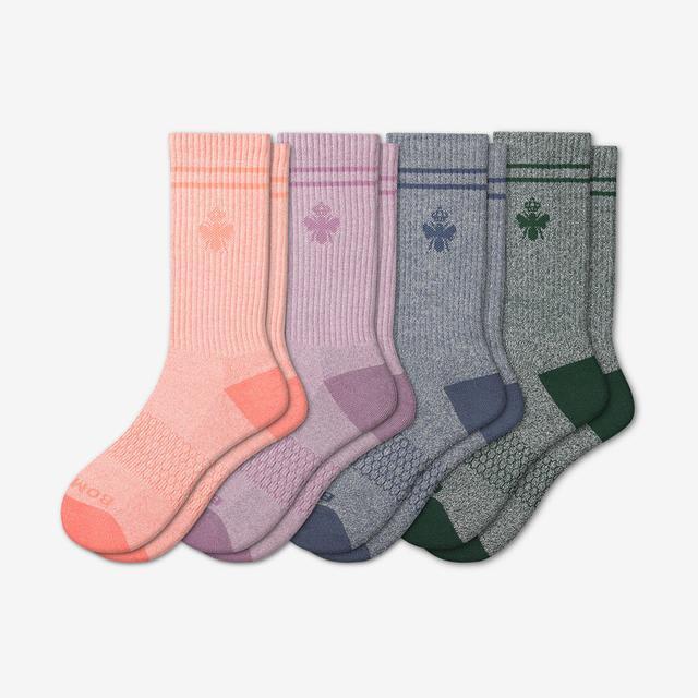 pink-green-blue-mix Women's Originals Calf Sock 4-Pack