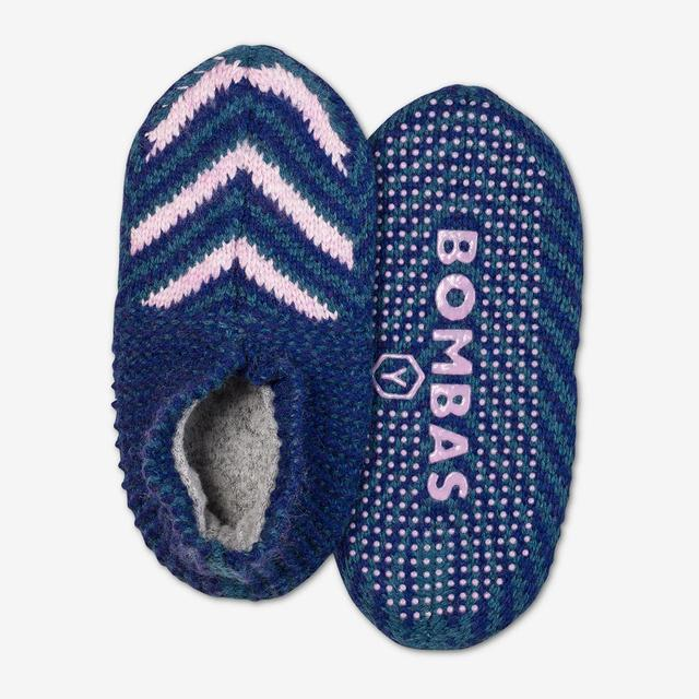 pink-multi Youth Gripper Slipper