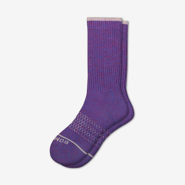 purple Women's Merino Wool Calf Socks